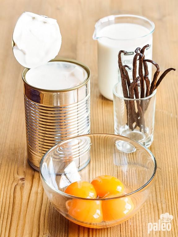 Vanilla Ice Cream Ingredients
