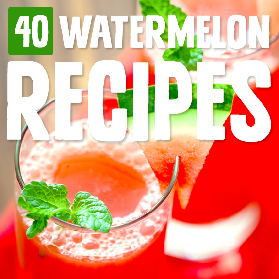 You mean there's more than one way to eat watermelon? I always thought you just ate it, but these watermelon recipes do a great job of showing just how much you can do with this sweet fruit.