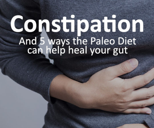If you suffer from constipation, here are 5 ways the Paleo Diet can help heal your gut without using laxatives or other medication.