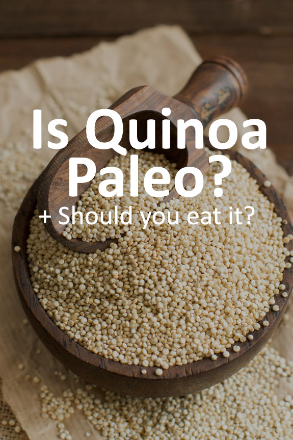 Quinoa is a nutritional powerhouse! But is quinoa Paleo? Read to find out.