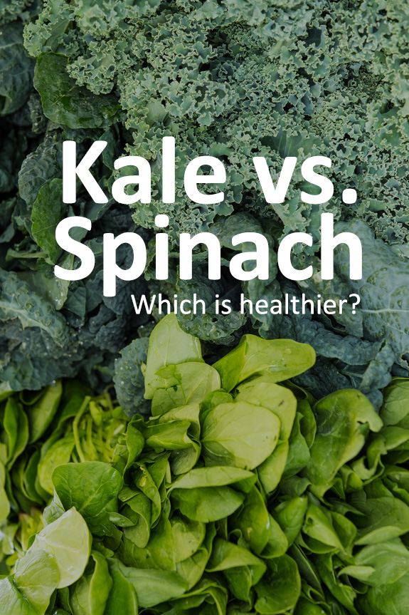 See the differences of kale vs. spinach and which leafy green is more nutrient dense.