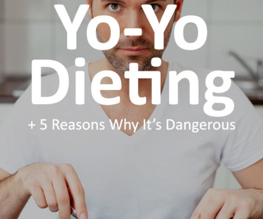 Learn everything you ever needed to know about yo-yo dieting, including- what it is, why it's dangerous, and how to break the cycle.