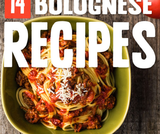 The perfect bolognese recipe can be found in this list. I had to try four different ones before landing on my favorite. Maybe I'll try the rest one day.