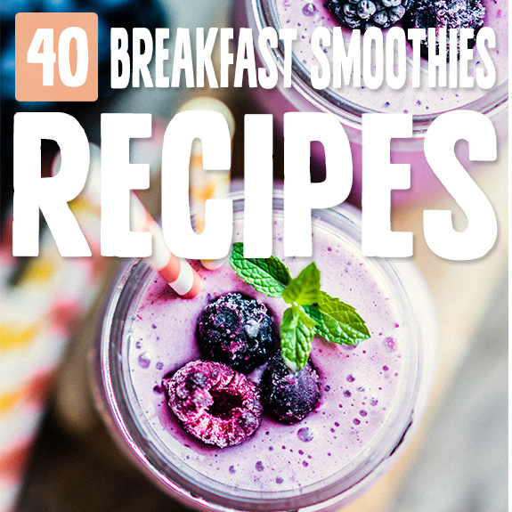 Starting the day with one of these breakfast smoothies is my new thing. It powers me up without taking very long to prepare, perfect for M-F on-the-go days.