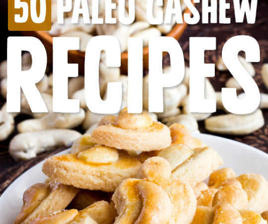 Cashews are one of my favorite nuts, and I'm still working my way through this list of cashew recipes to see which ones I like best. Go nuts!