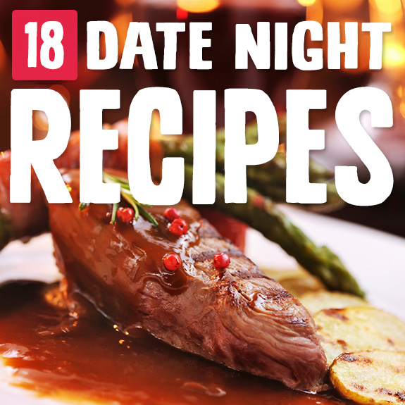 When it's a night with just the two of us, it's time to make something special. These date night recipes are perfect for staying in and eating gourmet-caliber food.