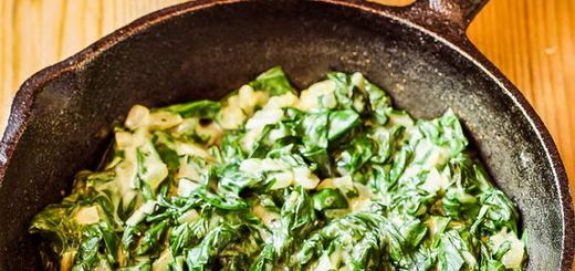 This Paleo creamed spinach will make spinach lovers out of the pickiest eaters.