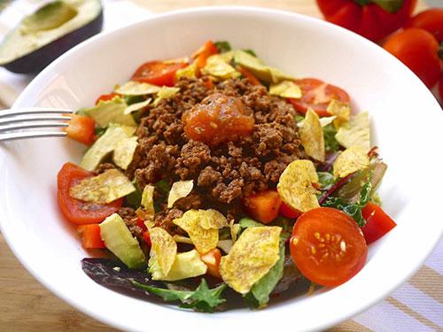 Buffalo Taco Salad Bowl