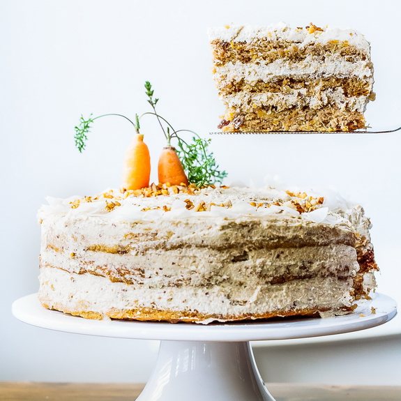 Incredible Naked Paleo Carrot Cake Oh My Paleo Grubs Personalised Birthday Cards Bromeletsinfo