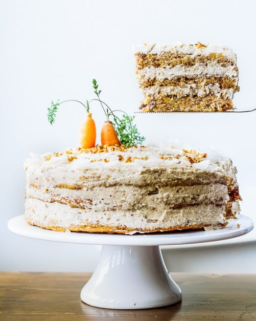 Calories In Piece Of Carrot Cake