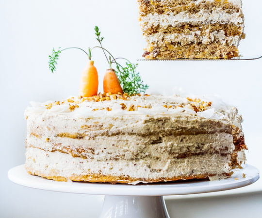 "Paleo ""Naked Carrot Cake"" – when was the last time you had a guilt-free piece of cake?"
