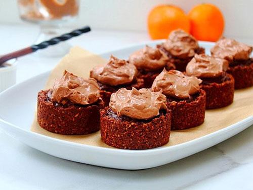 Chocolate Orange Caramel Tarts