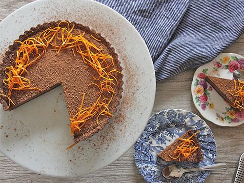 Chocolate Orange Tart