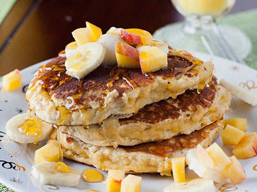 Coconut and Almond Flour Healthy Pancakes