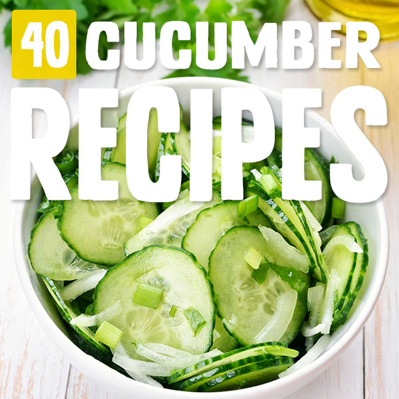Cucumbers are the unsung hero of veggies, but now they take center stage in some of my favorite recipes. Use these cucumber recipes to see what I mean.