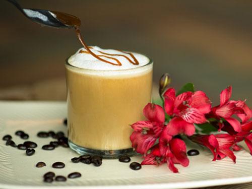 Dairy Free Caramel Latte