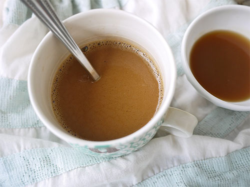 Easy Caramel Caffe latte