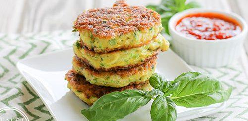 Grain Free Zucchini Fritters