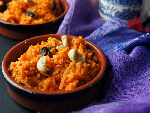 Indian Carrot Pudding