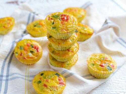 Make Ahead Rainbow Veggie Cups