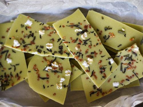 Matcha White Chocolate With Genmaicha