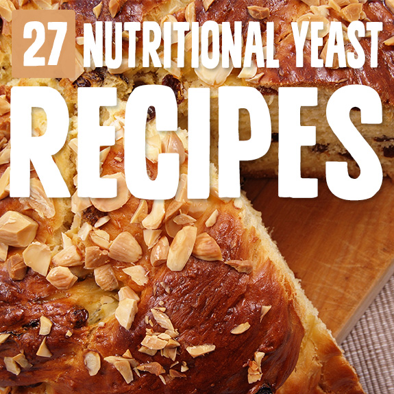 I always just sprinkled nutritional yeast onto my popcorn, but with these nutritional yeast recipes it's now one of my most favorite ingredients.