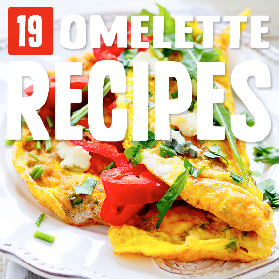 With so many different ingredient combinations it's fun to play around with omelettes. One of my breakfasts go-tos came from this hand-picked selection of omelette recipes.