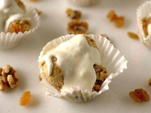 Paleo Carrot Cake Monkey Bread Muffins