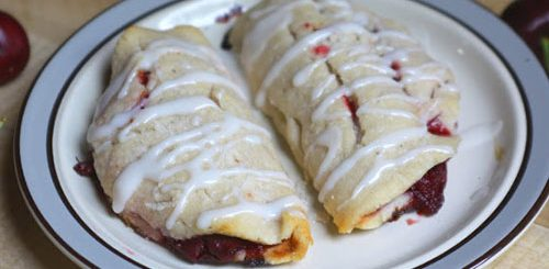 Paleo Cherry Turnovers