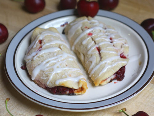 Paleo Cherry Turnovers