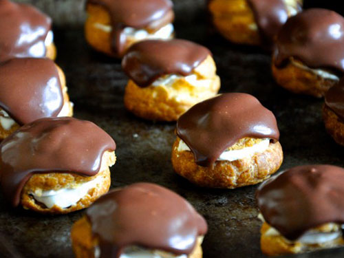 Paleo Chocolate Profiteroles