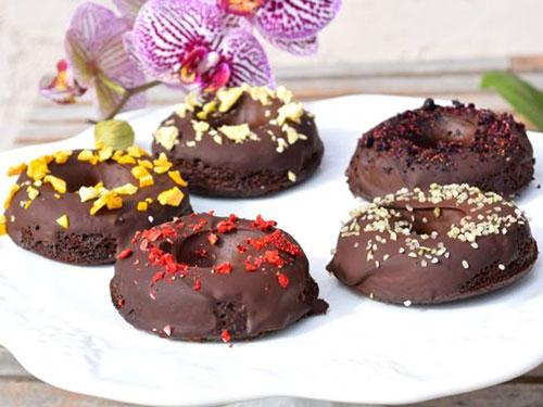 Paleo Chocolate Sweet Potato Donuts