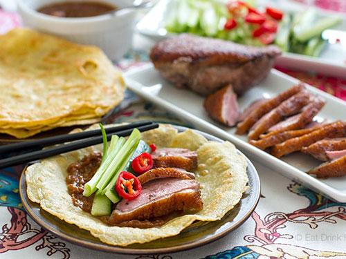 Paleo Peking Duck Pancakes
