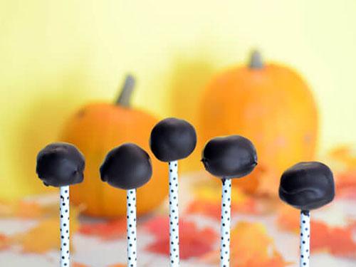 Paleo Pumpkin Cake Pops