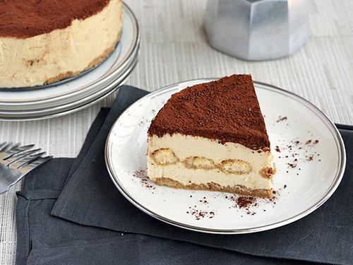Paleo Tiramisu Cheesecake