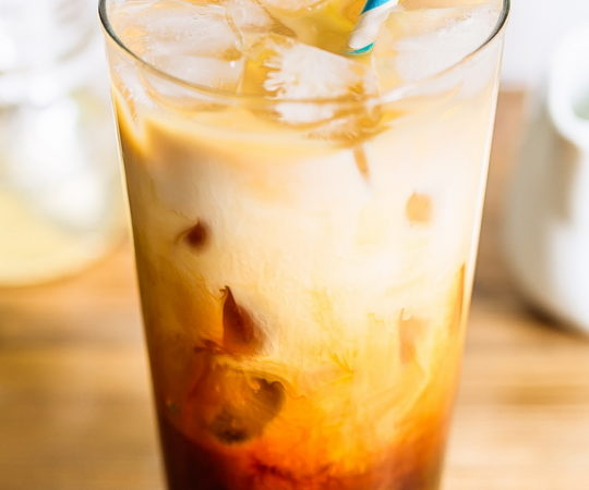 "Get the taste of a sweet, creamy, cool coffee treat anytime of the day with this chicory iced Paleo ""coffee""."