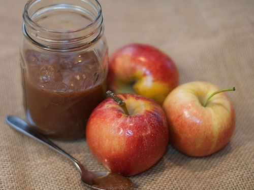 Small Batch Spiced Maple Apple Butter