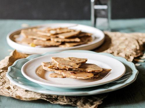 Vanilla Bean Crunch Almond Butter Bark