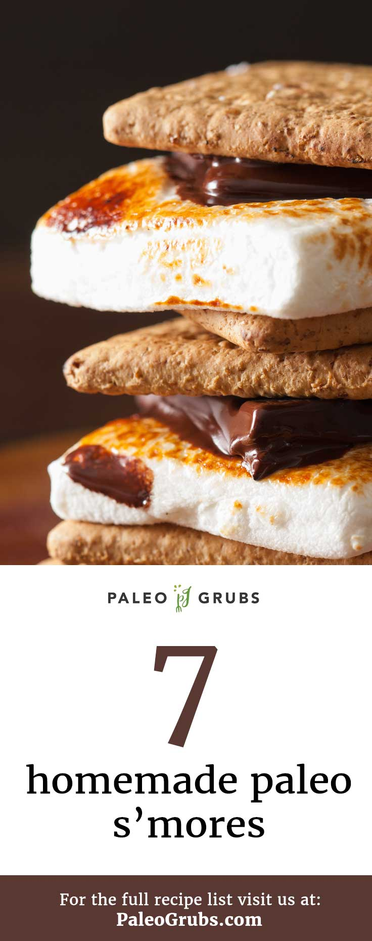 Ooey, gooey, melty s'more goodness.