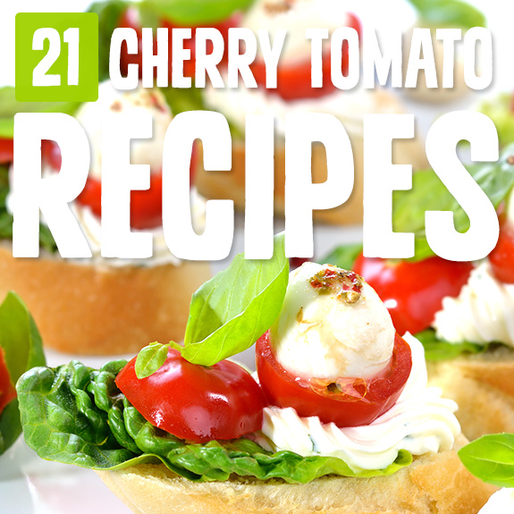 Cherry tomatoes are bursting with goodness, and this list of recipes gave me lots of ways to prepare them and feature them in my Paleo cooking.