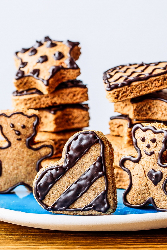 Paleo gingerbread cookies are great for the winter holidays or any day!