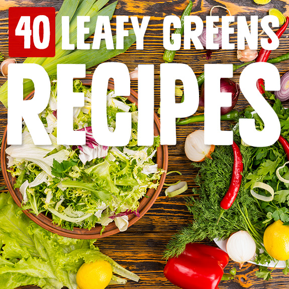 I like to make these as a side dish with a meaty main. Get your daily veggies and feel like a superstar when you power up with these leafy greens recipes.