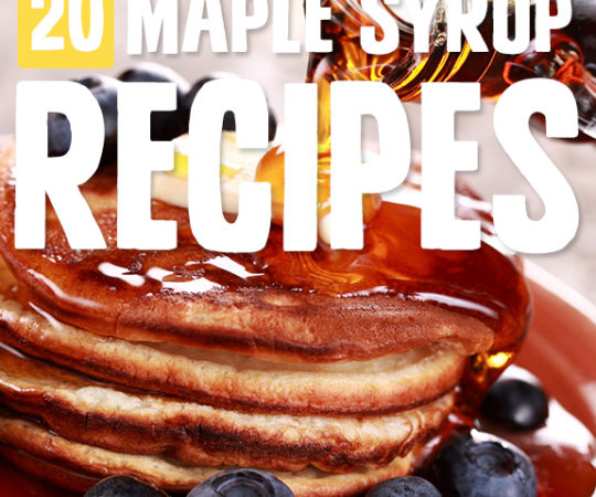 The richness comes through in each of these maple syrup recipes. Sweet and distinct, it's one ingredient I love to cook with now.
