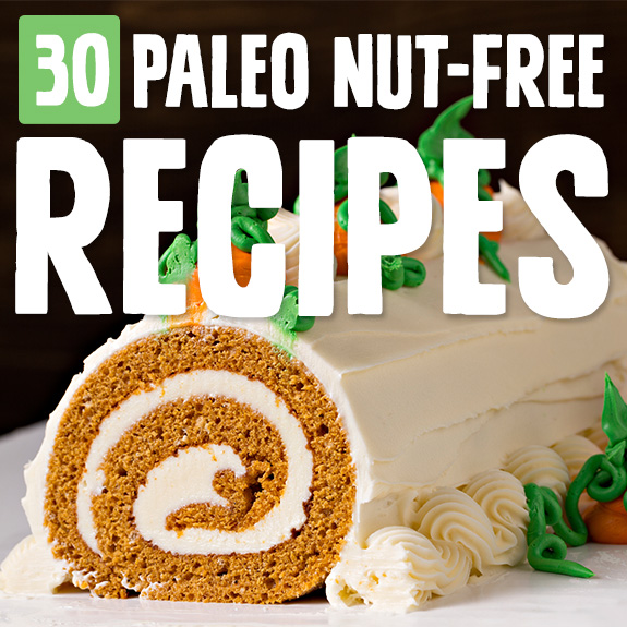 Here's a handy list of nut-free recipes if you're trying to avoid nuts because of allergies or any other reason. I found two new favorites to add to my personal collection.