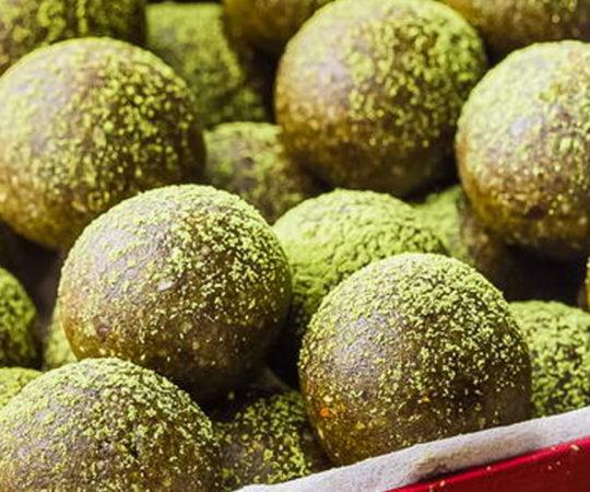 Matcha Green Tea Bliss Balls