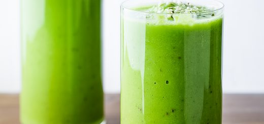 The Best Paleo Green Smoothie is the perfect way to start your day.