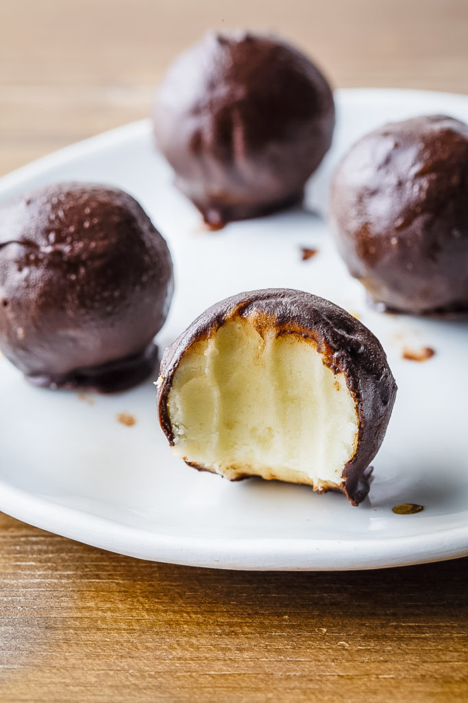 Ice Cream Truffles Paleo Grubs