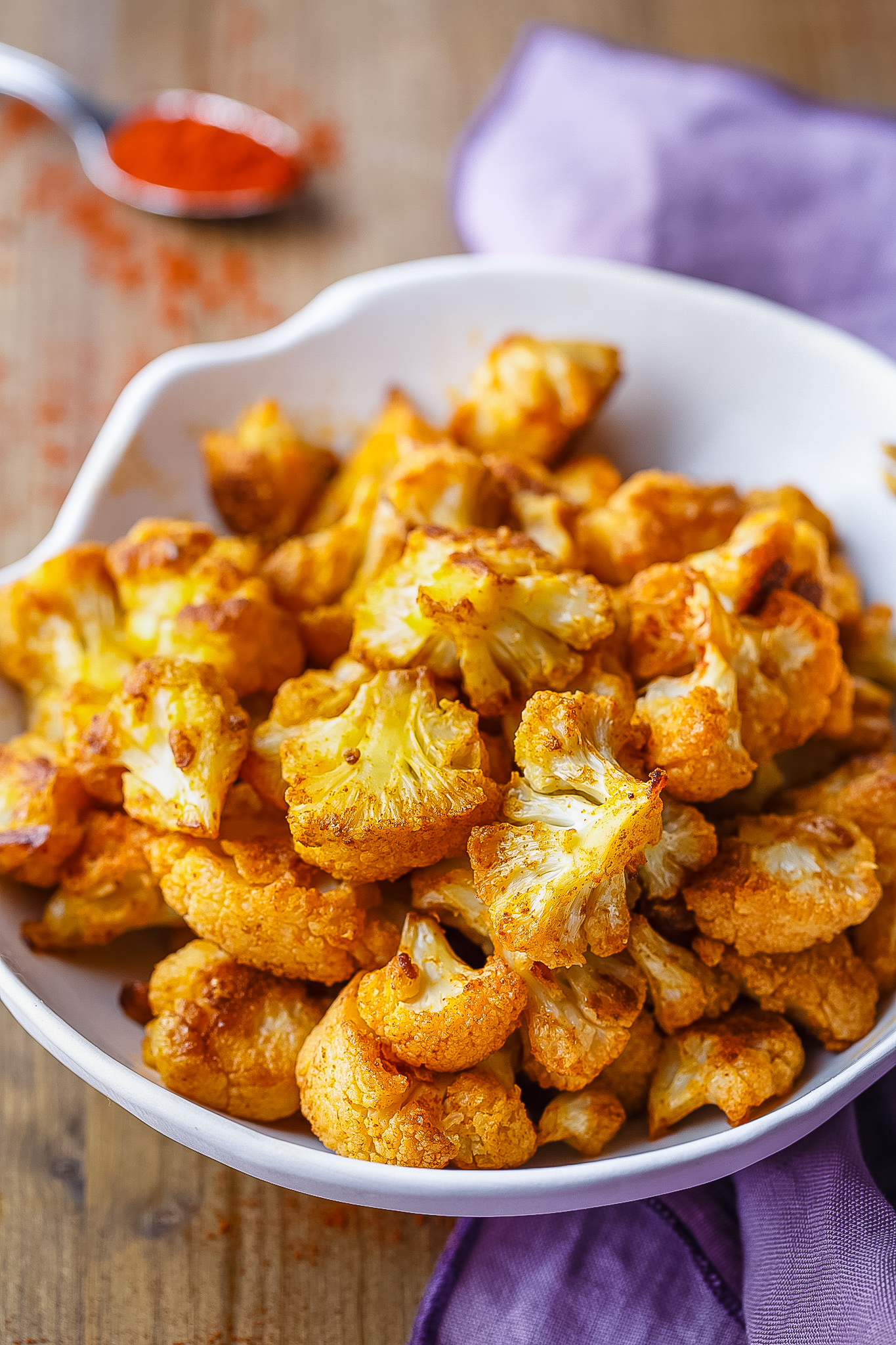 Smoky Roasted Cauliflower | Paleo Grubs