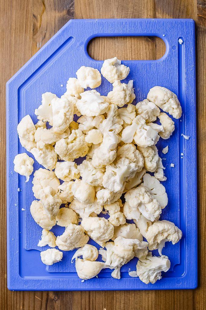 Sliced Cauliflower