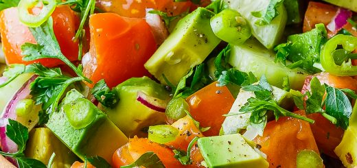 Avocado tomato salad is full of the goodness only avocado can bring to a dish!